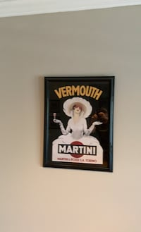 Vermouth martini painting framed Vienna, 22181