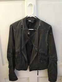 WRV Doll Fins Faux Leather Jacket