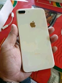Rose gold iPhone 8 plus with box