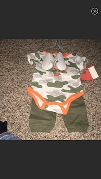 6-9mth little hunting buddy outfit
