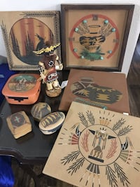 Native American Trading Post Art circa 1960 & 70's League City, 77573