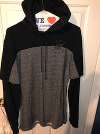 black and gray zip-up hoodie Silver Spring, 20906