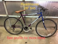 "Mountain climber Roadmaster 26"" $45 Rancho Cordova"