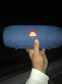 blue JBL portable Bluetooth speaker Los Angeles, 91405