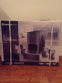 Brand new in the never opened box ! Kamron audio 5.1 HD home theatre system KA-9 . Toronto, M4C 4G3