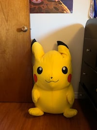 Huge pikachu stuffy
