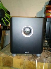 Powered subwoofer by MIRAGE