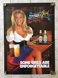 St Pauli Girl Posters (2 styles)- New Middletown, 06457