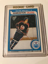 WAYNE GRETZKY ANNIVERSARY SERIES ROOKIE CARD MINT CONDITION