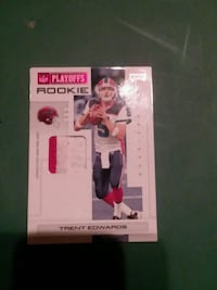 Trent Edwards american football trading card Superior