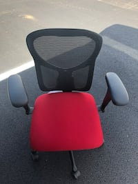 Ergonomic, Adjustable, Mesh/Fabric, Black & Red Office Chair Gainesville, 30501
