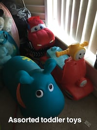Toddler's assorted toys Mississauga