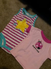 baby's white and pink onesie Pearisburg, 24134