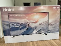 Haier 65 inch 4k tv *BRAND NEW*