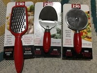 3 joie msc kitchen utensils (Red)