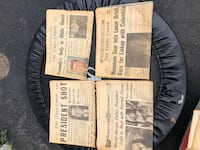 4 vintage newspapers  Rochester, 14613