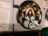 """Gone with the wind ""  collectable plate 273 mi"