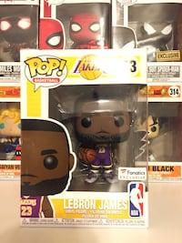 new product dbdd1 29054 Houston에서 판매중인 중고 Lebron James Los Angeles Lakers Purple Jersey Fanatics  Exclusive Funko Pop - letgo