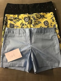 3 pairs of shorts - size 4 NWT Columbia, 21044