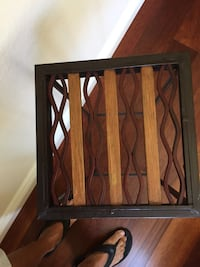 Accent Table. Medal  with Wood  Carlsbad, 92011