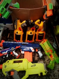 9 Nerf collection