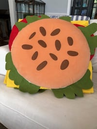 PB Kids Hamburger Costume Size 4-6 RESTON
