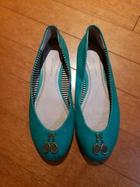 Anthropologie Teal flats  Manassas, 20110