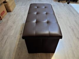 """Brand New 30"""" Foldable Storage Ottoman, Storage Stool ( 3 colors available )"""