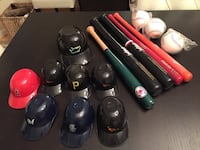 Collection of baseball paraphernalia  Woodbridge, 22191