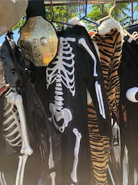 COSTUMES GALORE!!!!!  STARTING at only $5 for a simple mask or wig up to $50 for a genuine DEPARTMENT of CORRECTIONS JumpSuit UNIFORM or Authentic Local FIRE DEPT HELMET & SHIRT!!! So to be clear, prices range from $5-$50. I'll make you a deal on whatever Redlands, 92374