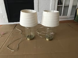 Glass & Gold Lamps