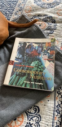 Comtemporary Nutrition Issues & Insights by Gordon Wardlaw Riverside, 92503