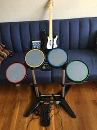 Xbox 360 rock band bundle  Arlington, 22207