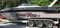 1986 Chris Craft Twin V8 engine speed boat.  W Trlr. Runs excellent. Alexandria, 22309