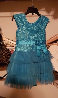 2T Blue holiday dress