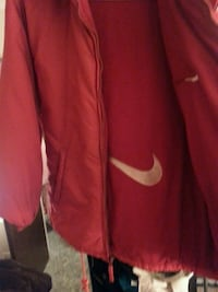 Red Nike jacket Tulsa, 74135