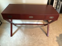 Red Wooden Desk Woodbridge, 22192