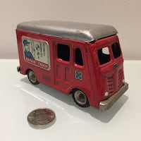 Hadson Japanese Tin Litho Toy Repair Truck Toronto