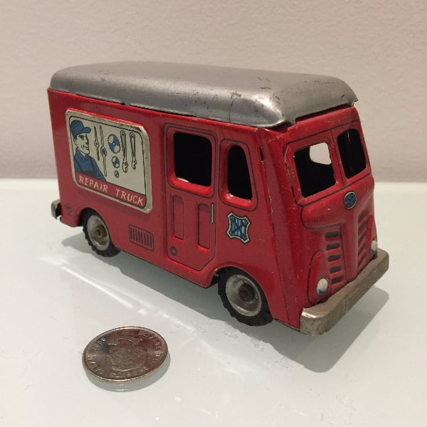 Hadson Japanese Tin Litho Toy Repair Truck