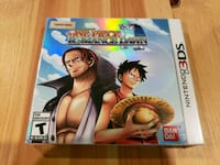 One Piece Romance Dawn 3DS game mint sealed Hagerstown, 21740