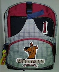 New scooby-doo back pack