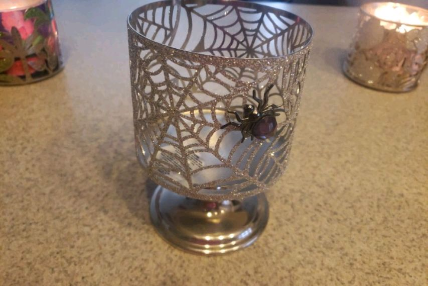 Photo Bath and body works Candle holder