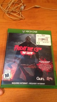 Friday the 13th Game Xbox one 3163 km