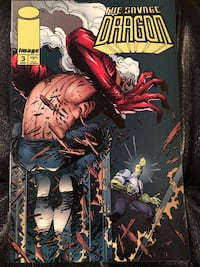 Image Comics The Savage Dragon #3, August 1993 564 km