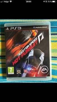 Need for Speed ​​Hot Pursuit Sony PS3 funda de juego