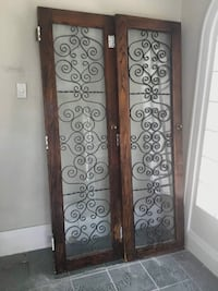 Beautiful Antique Solid Wood Interior French Doors $460 OBO Toronto, M9C 4W7