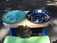 Nautical themed party trays and nautical tin wall hanging Herndon, 20171