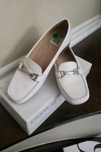 geox white loafer Vaughan, L6A