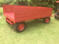 Red and brown utility trailer Hernando, 38632