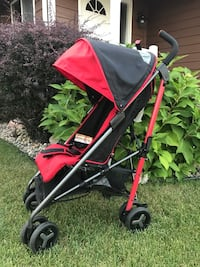 Baby's black and red stroller Sioux Falls, 57103